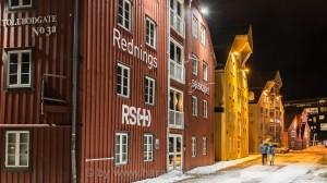 Speicherhäuser in Tromsö