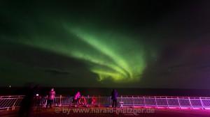 Polarlicht bei Windstärke 12