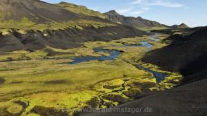 Landschaft am Laugarvegur