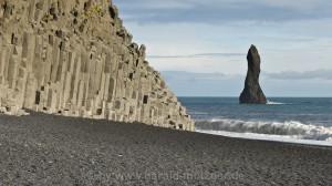Basaltsäulen an der Südküste
